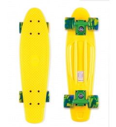 Skateboard Street Surfing BEACH BOARD Summer Sun, žlutý