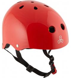 Helma Triple Eight Brainsaver 2 MiPS L/XL Red Glossy