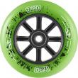 Kolečko Longway Tyro Nylon Core 100mm zelené