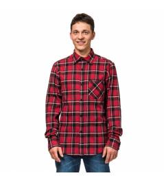 Košile Horsefeathers Rashid cardinal red 2019 vell.XL