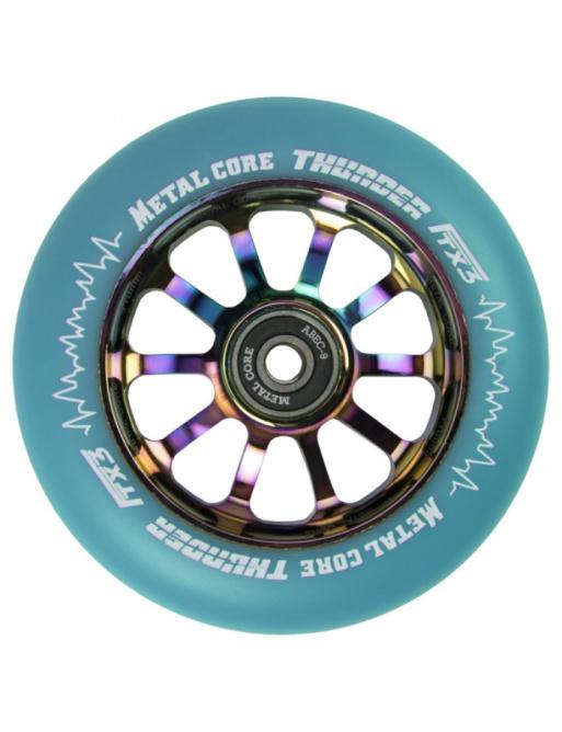 Metal Core Thunder Rainbow 110 mm koliesko modré