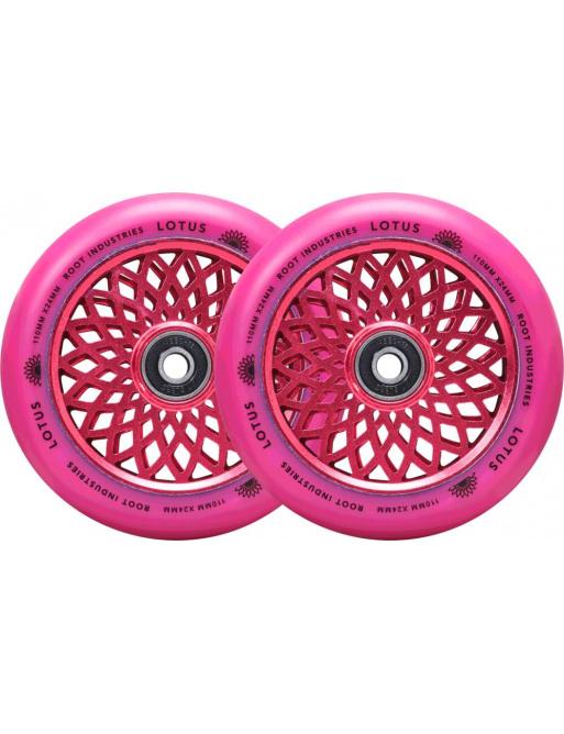 Kolečka Root Lotus 110x24mm Radiant Pink 2ks