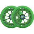 Kolieska River Glide Emerald zelené 2ks