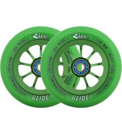 River Glide Emerald zelené 2ks kolieska