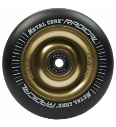 Metal Core Radical 110 mm koliesko čierno zlaté