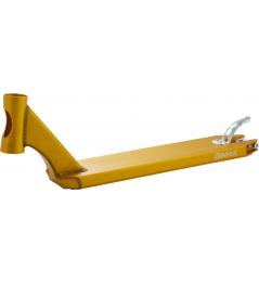 Deska Apex 510mm zlatá + griptape zdarma