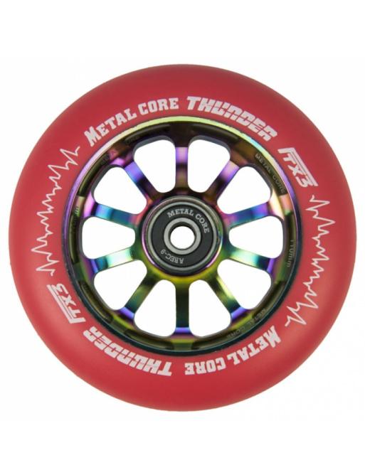 Metal Core Thunder Rainbow 110 mm koliesko červené