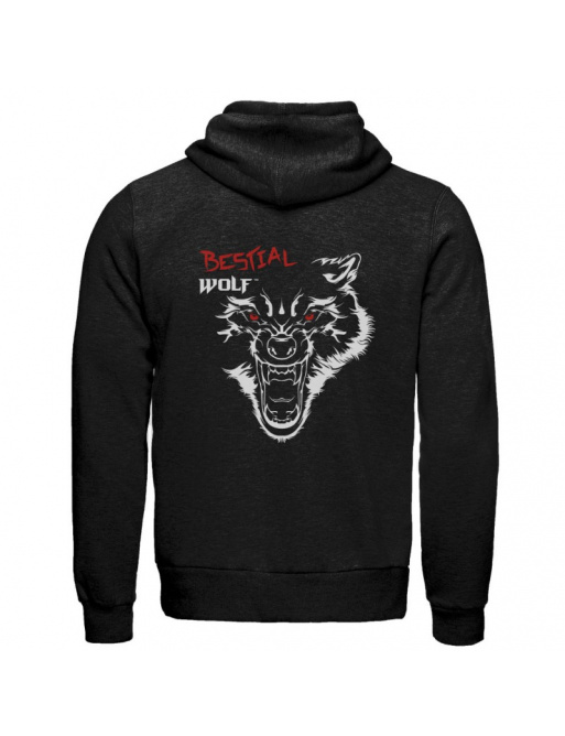 Mikina Bestial Wolf černá
