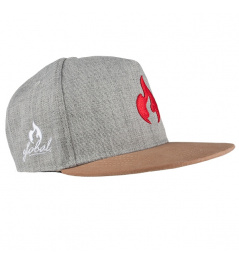 Chilli Global Snapback šedá