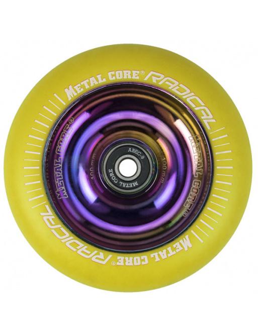 Metal Core Radical Rainbow 110 mm koliesko žlté