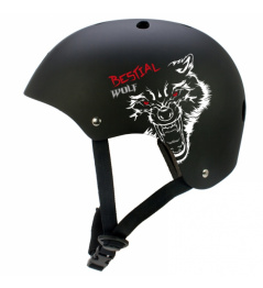 Bestial Wolf Blackskull detská prilba (XXS-S)